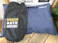 Oreiller auto gonflable