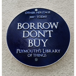Alternative Blue Plaque