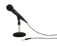 Uni-directional Dynamic Microphone With Mic Stand