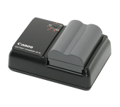 Canon Battery Charger + 2 Batteries