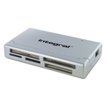 Integral USB 2.0 Multi Card Reader