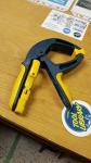 Yellow spring hand clamp