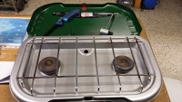 Two Burner Camping Stove