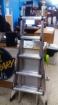 21' Portable and Adjustable Ladder