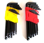 Work Center Imperial allen key set (yellow cas)