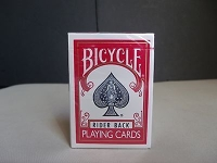 Bicycle Poker 808 Rider Back