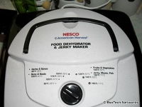 food dehydrator and jerky maker