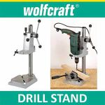 Drill stand with Makita drill
