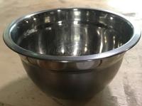 Metal camping bowl