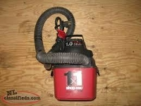Shop Vac DRY PICK-UP ONLY
