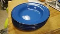 plate (metal blue or black)