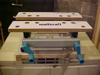 Wolfcraft benchtop vice