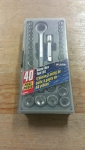 Socket Set 40 Piece