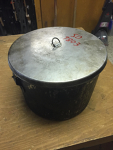 Large Camping Pot with Cover