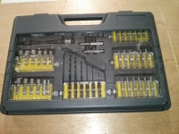 Screw driver bit set