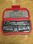 Crowfoot wrench set