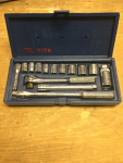 Metric Socket Set 3/8""