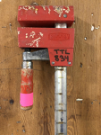 5' Red Bar Clamp