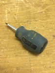 "1/4"" STUBBY Slot Head Screwdriver"