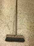 heavy duty push broom