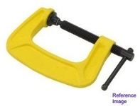 "Mastercraft yellow 2.5"" c-clamp"