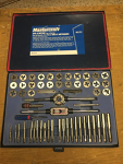60-piece SAE and Metric Tap and Die Set