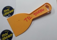 "3"" Plastic Putty knife"