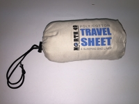 Sleeping bag liner and travel sheet
