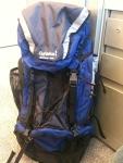 Blue Hiking Backpack