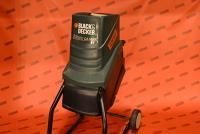 Häcksler Black&Decker