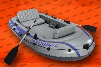 Schlauchboot (4 Personen)