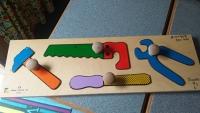 Knob Tools Puzzle