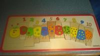 Caterpillar Matching Puzzle