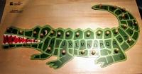 Alphabet Alligator Puzzle