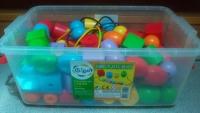 Jumbo Plastic Beads