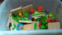 Jumbo Wooden Traffic 3-D Dominoes