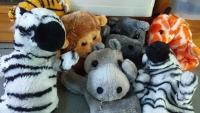 Jungle Hand Puppet Friends