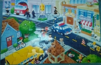 Busy Town Floor puzzle