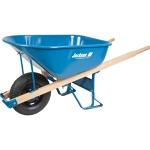 Steel Wheelbarrow, 6 cubic ft.