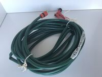 Garden hose with fittings