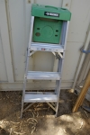 4' Step Ladder (Green)