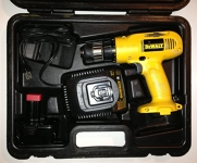 Cordless Drill in hard case