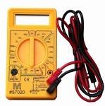 yellow multimeter