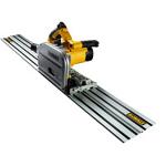 Invalcirkelzaag (met rails)