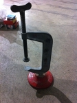 "6"" Stand C-clamp"