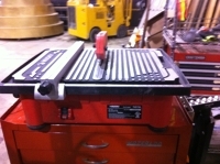 "7"" Wet Tile Table Saw"