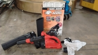 Electric Leaf Blower and Vacuum (with Manual)