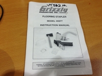 MANUAL for Floor Nailer