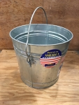 6 Gallon Galvanized Bucket