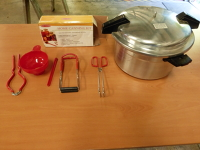 Home canning kit with tools (Manual Available)